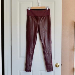 SPANX Assets All Over Faux Leather Leggings